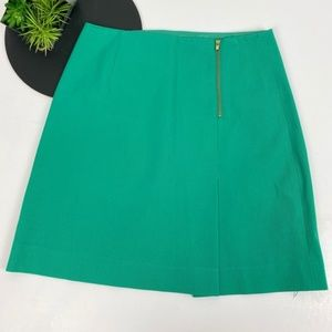 Lilly Pulitzer kelly green zip skirt size 10
